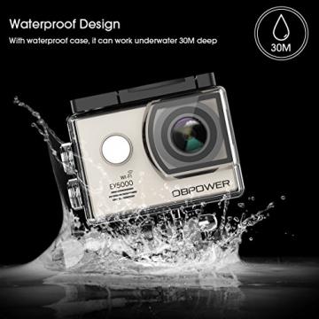 ex5000 action cam von dbpower wifi 14mp wasserdicht. Black Bedroom Furniture Sets. Home Design Ideas