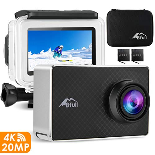 action cam von bfull touch display 20 mp wifi 2 akkus. Black Bedroom Furniture Sets. Home Design Ideas